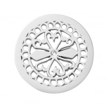 Nikki Lissoni Silver Plated Coin