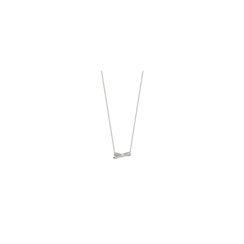 3b6c6f163d902 Nomination Nomination Mycherie Sterling Silver Small Bow Necklace