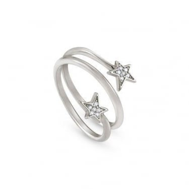 Nomination Stella Sterling Silver CZ Stars Ring