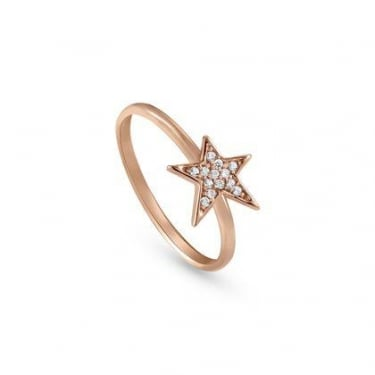 Nomination Stella Sterling Silver Rose Gold Ring