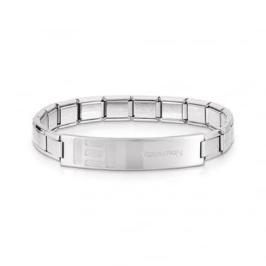 Nomination Trendsetter Small Bars Shiny Finish Bracelet