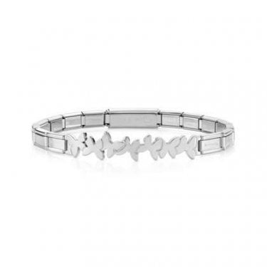 Nomination Trendsetter Stainless Steel Bracelet with Infinity Butterfly