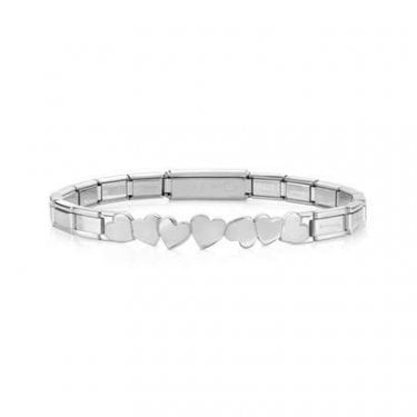Nomination Trendsetter Stainless Steel Bracelet with Infinity Heart