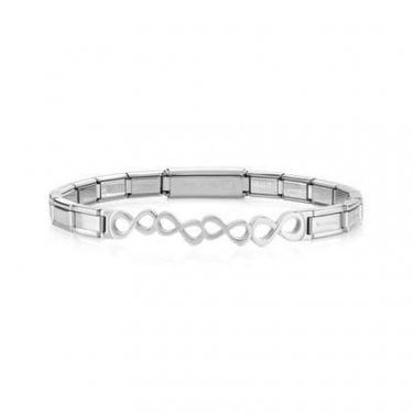 Nomination Trendsetter Stainless Steel Bracelet with Infinity