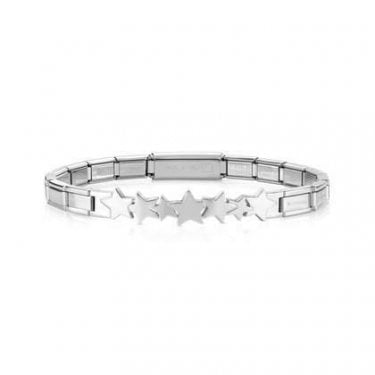 Nomination Trendsetter Stainless Steel Bracelet with Infinity Star