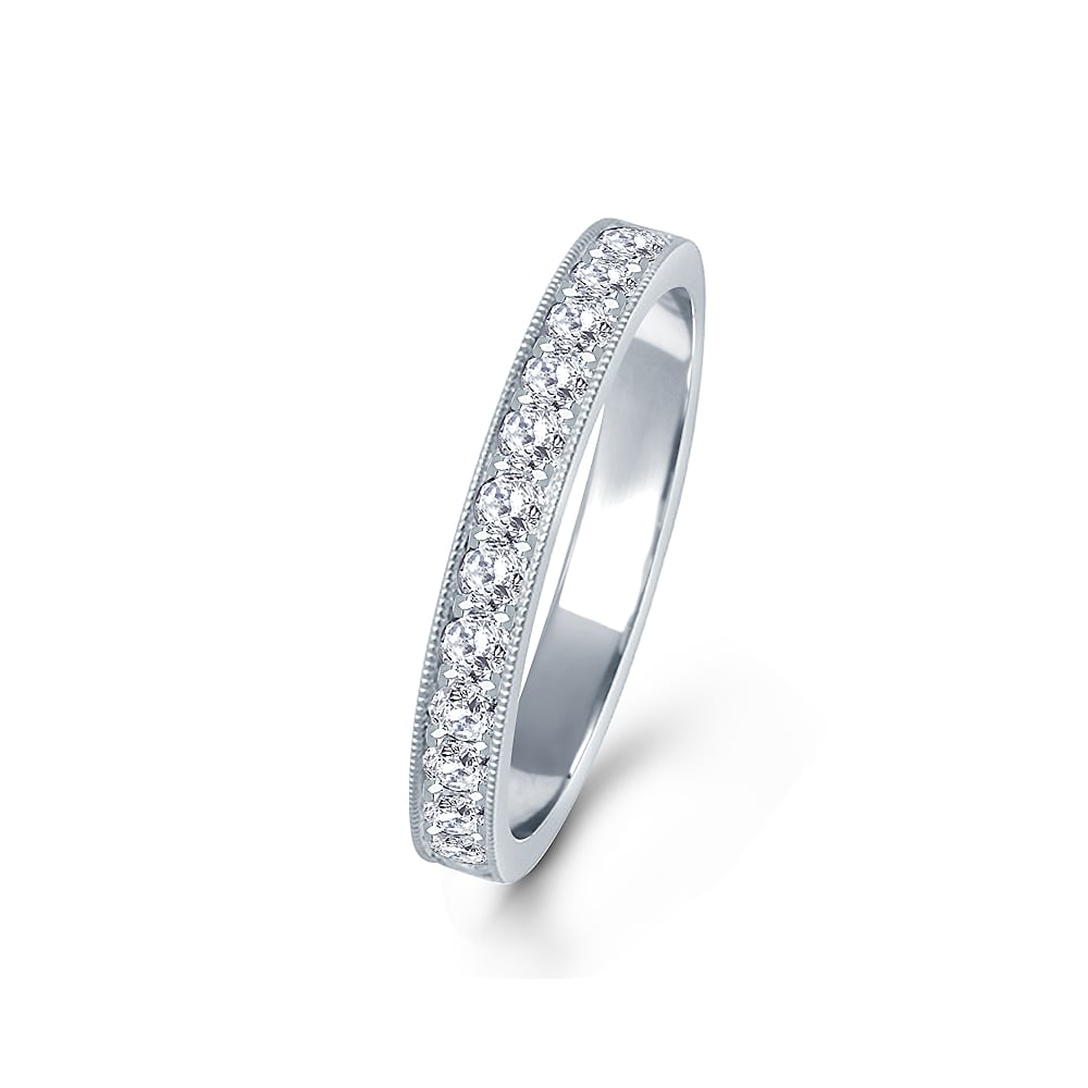 anniversary cut platinum carat p eternity ring main diamond round band bands