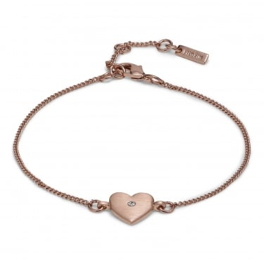 Pilgrim Blaine Rose Gold Plated Bracelet