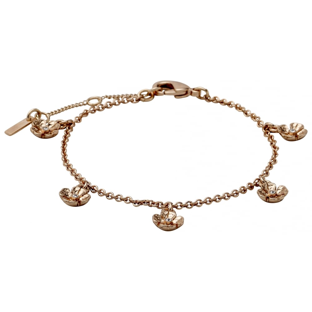 lady gold hires bracelet cm en rose folli follie bubble plated
