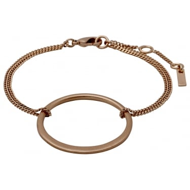 Pilgrim Rose Gold Plated Bracelet