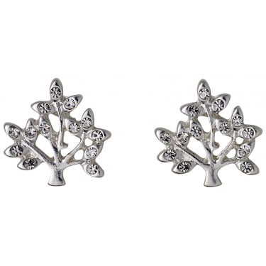 Pilgrim Silver Coloured Earrings