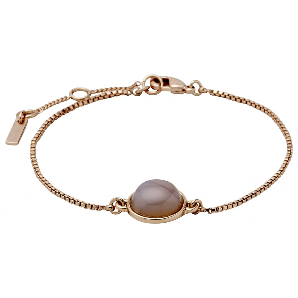 product wow bracelet in plated rose gold silver