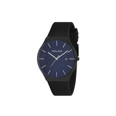 Police Gents Black and Navy Watch