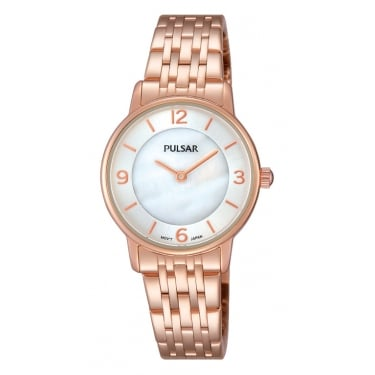 Pulsar Ladies Rose Gold Watch