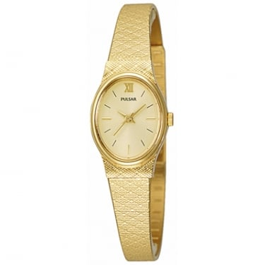 Pulsar Ladies Watch Yellow Gold