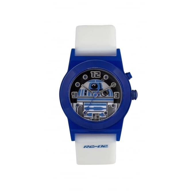 Disney Watches R2 D2 Light up Dial White watch