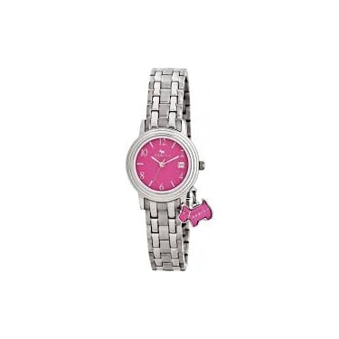 Radley Ladies Darlington Silver Pink Watch