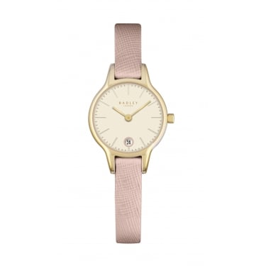 Radley Ladies Icing Pink Leather Strap Watch