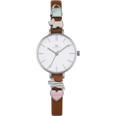 Radley Ladies Tan Charm Strap Watch