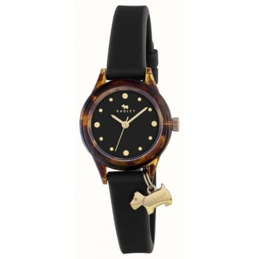 Radley Ladies Watch With Black Silicone Strap