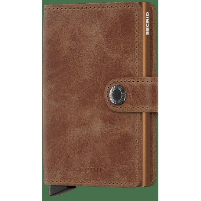 6b0542f4e6c Secrid Miniwallet Vintage Cognac-Rust - Wallets from Faith Jewellers UK