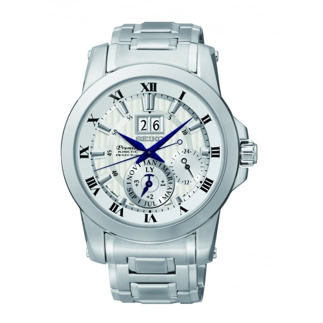 Seiko Gents Silver Watch