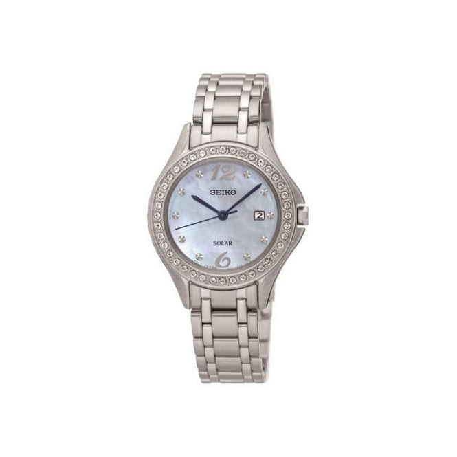 Seiko Ladies Silver Mother of Pearl Watch