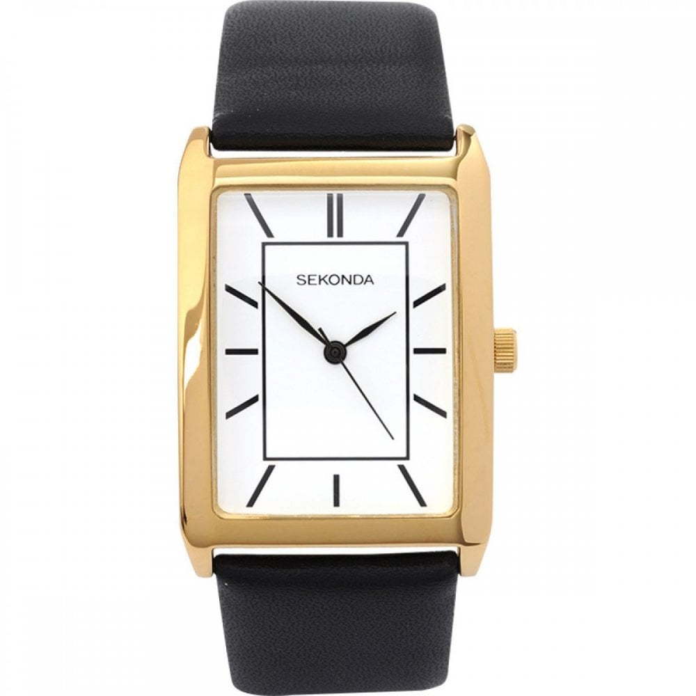 e8843c9b5 Sekonda Gents Black Leather Watch - Men's Watches from Faith ...