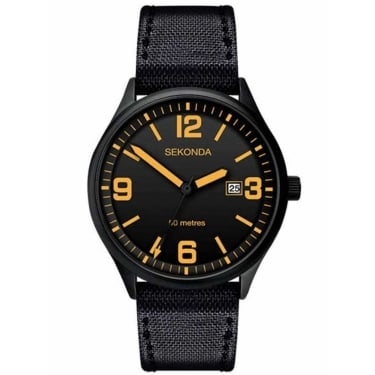 Sekonda Gents Black Watch