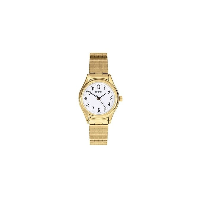 Sekonda Ladies Gold Expandable Watch
