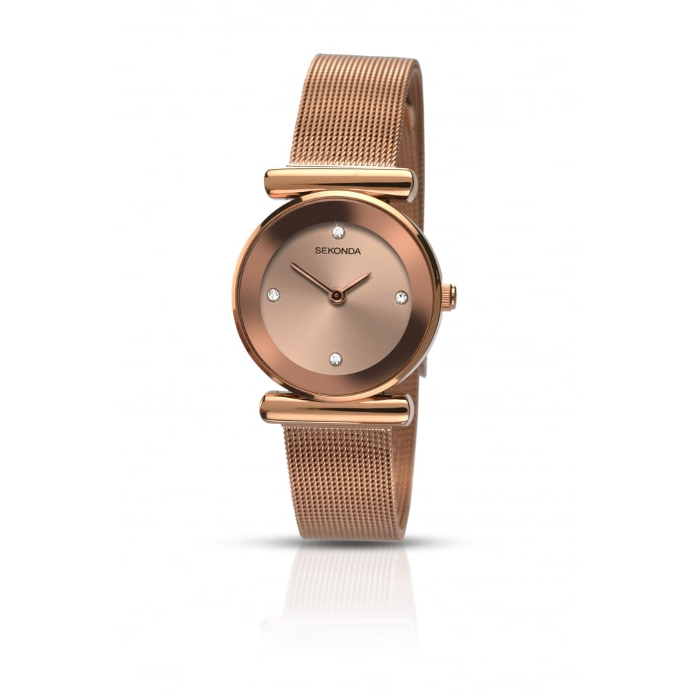 Sekonda Ladies Rose Gold Watch - Watches from Faith Jewellers UK