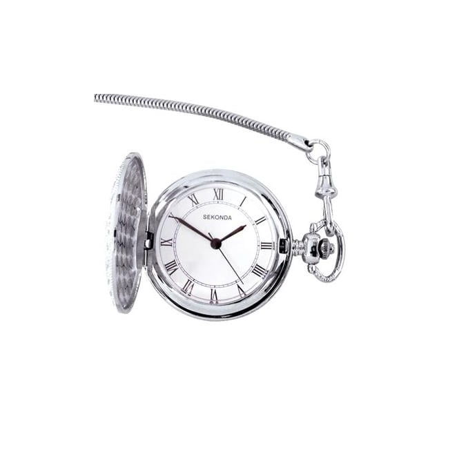 Sekonda Silver Pocket Watch
