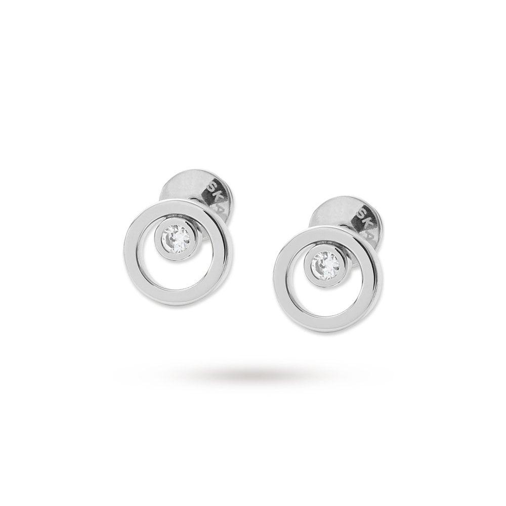 7b73bccba Skagen Elin Silver Earrings - Jewellery from Faith Jewellers UK
