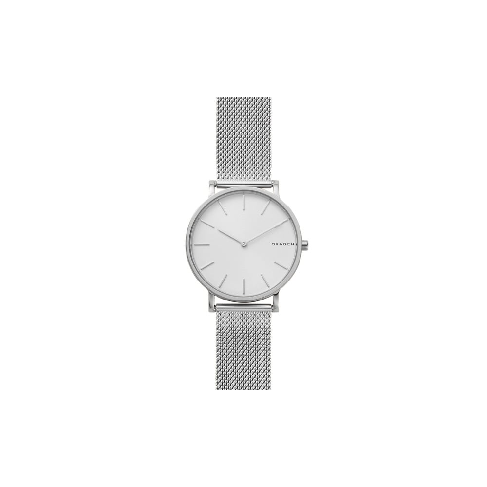 watch dkny dial silver watches ladies mesh soho steel