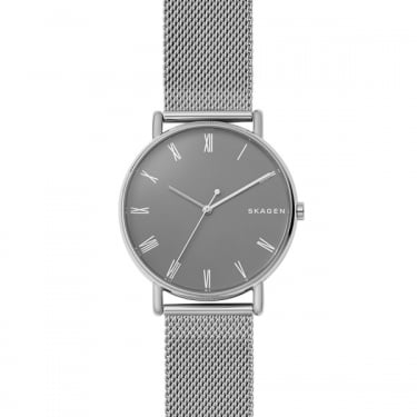 Skagen Gents Silver Signatur Watch
