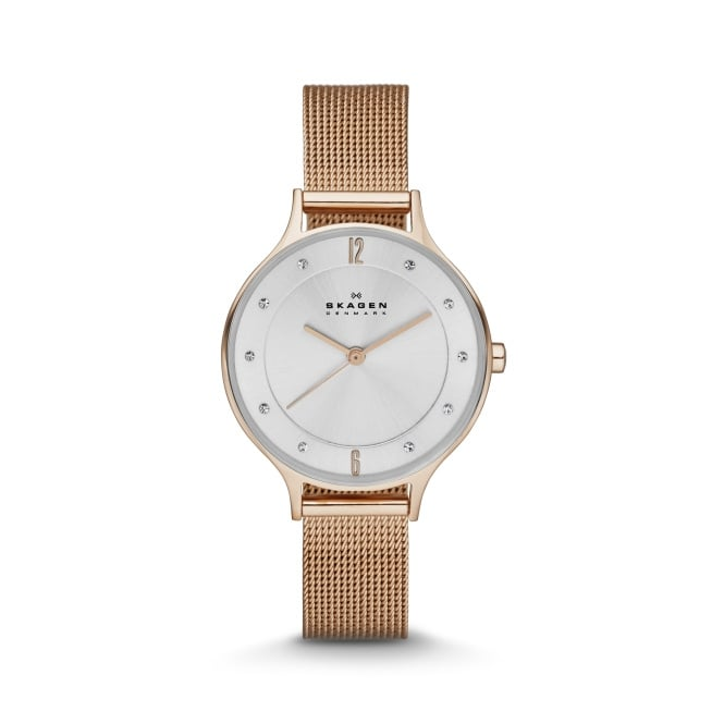 Skagen Ladies Anita Rose Gold Watch