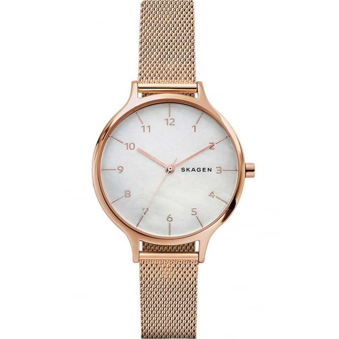 Skagen Ladies Rose Gold Anita Watch