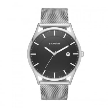 Skagen Men's Holst Silver Watch