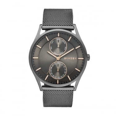 Skagen Mens Holst Silver Watch