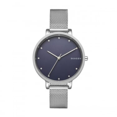 Skagen Mens Silver Hagen Watch