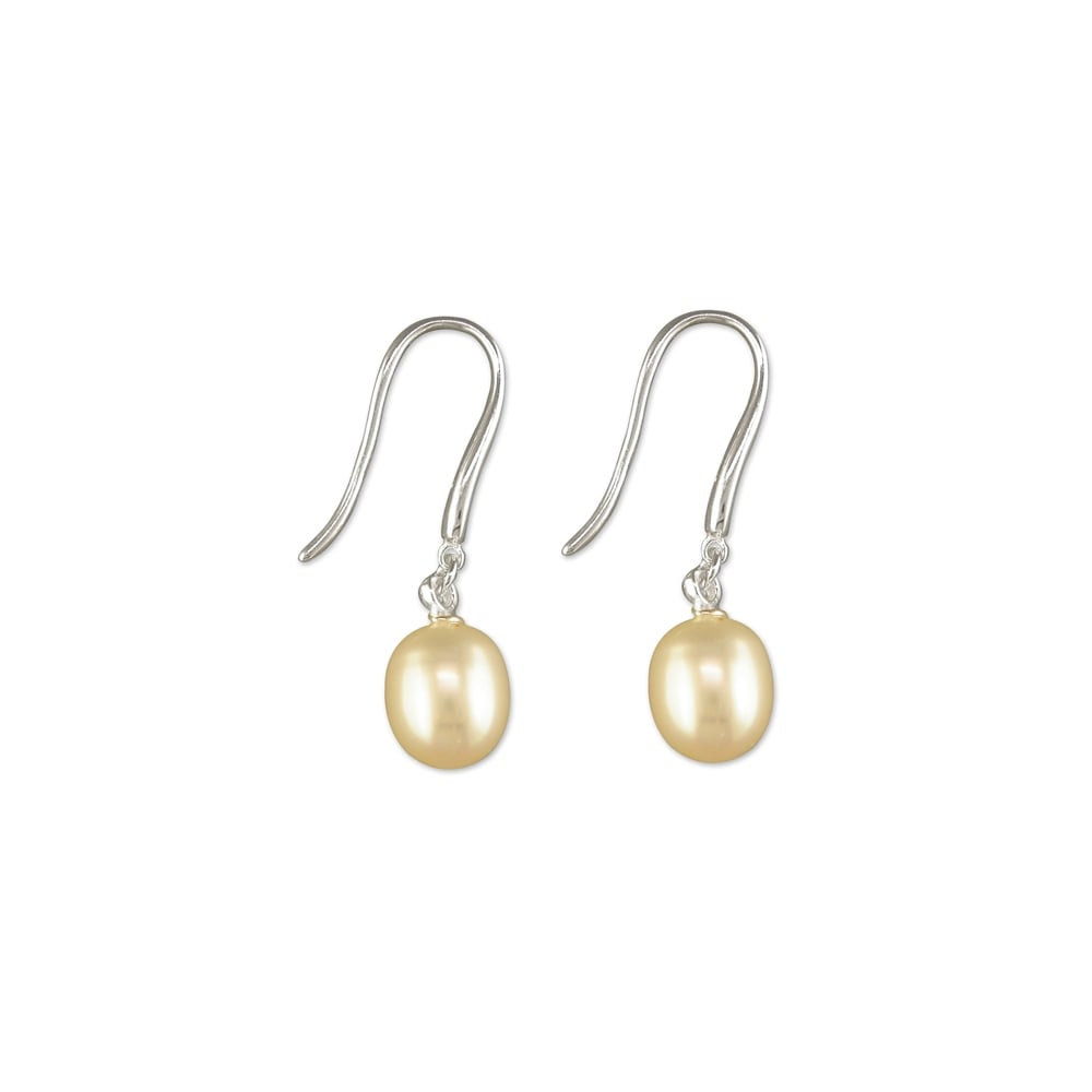 e313e0ad2 Faith Sterling Silver Sterling Silver Large White Fresh Water Pearl ...