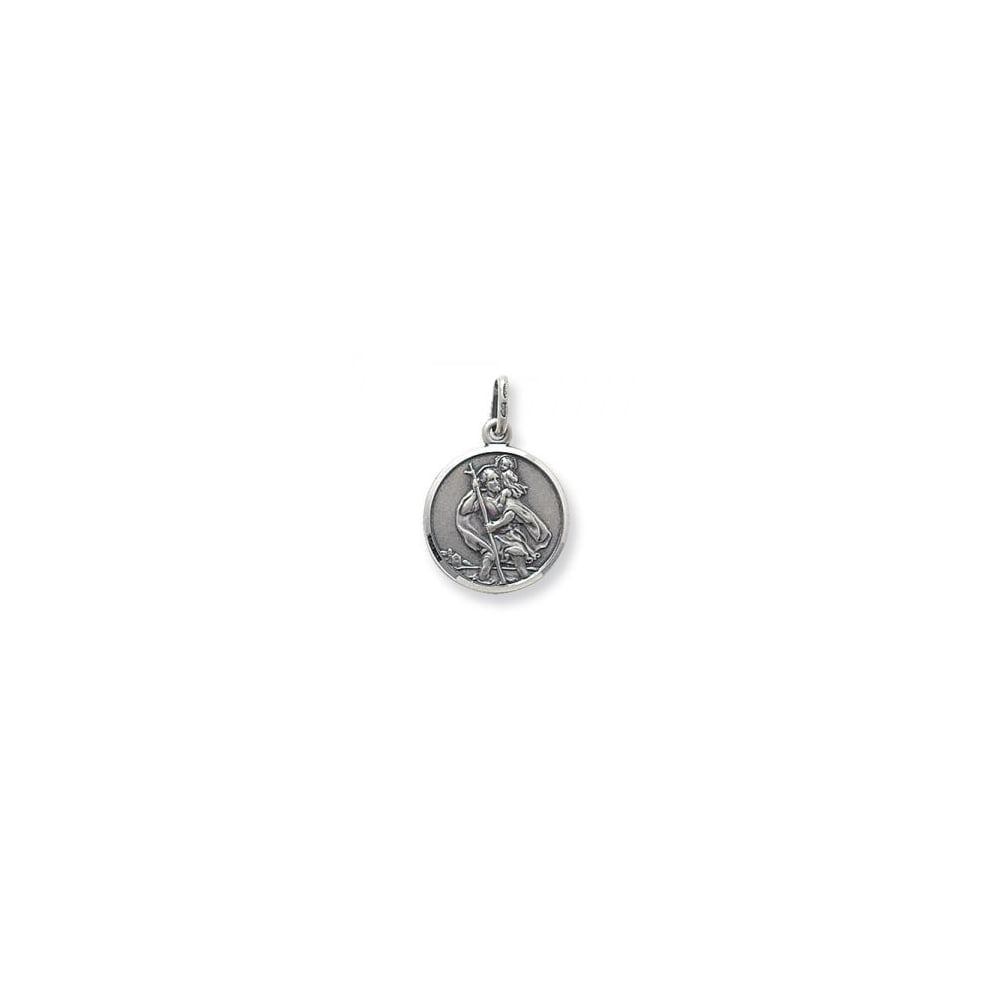 c56e1b5a9d9c Faith Sterling Silver Sterling Silver Round Medium Double Sided St ...