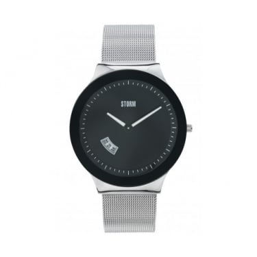 Storm Sotec Black and Silver Watch