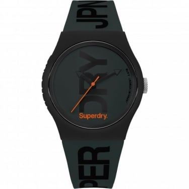 Superdry Gents Black Urban Watch