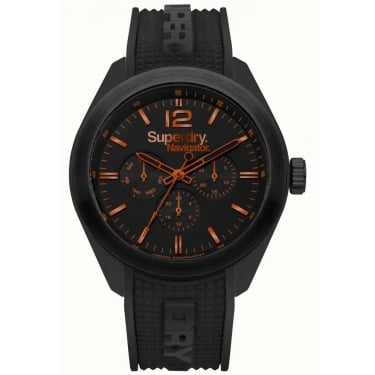Superdry Gents Navigator Black Watch
