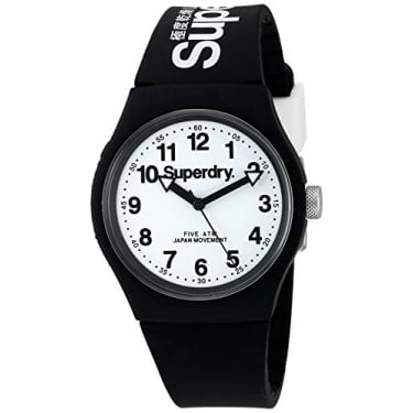 Superdry Gents Urban Black White Watch