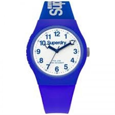 Superdry Gents Urban Blue White Watch