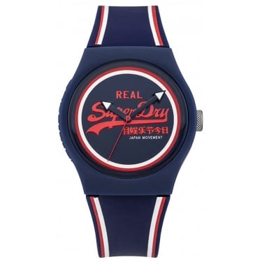 Superdry Gents Urban Navy Watch