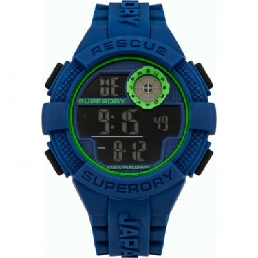 Superdry Gents Urban Radar Navy Watch