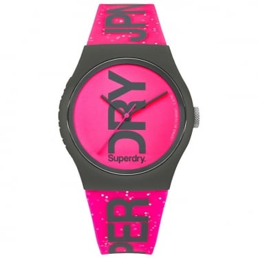 Superdry Ladies Urban Pink Watch