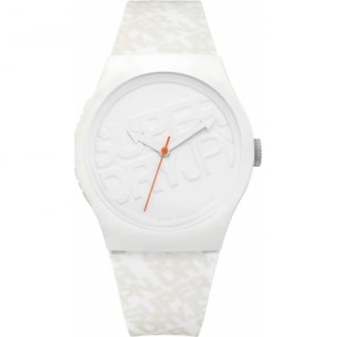 Superdry Unisex Urban White Watch